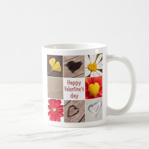 Heart joining Happy Valentine' S day Coffee Mug