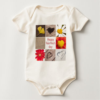 Heart joining Happy Valentine' S day Rompers