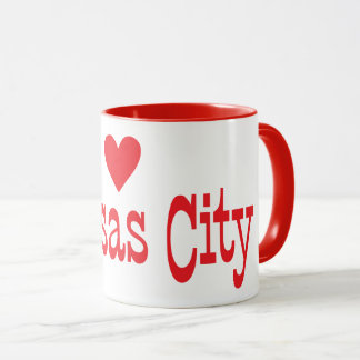 HEART KANSAS CITY COFFEE MUG