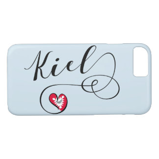 Heart Kiel Mobile Phone Case, Germany iPhone 8/7 Case