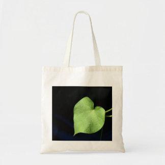Heart Leaf Budget Tote Budget Tote Bag