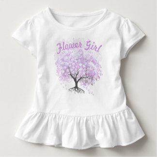 Heart Leaf Lavender Tree Vintage Bird Wedding Toddler T-Shirt