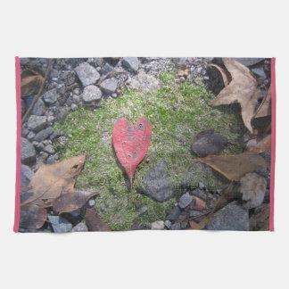 Heart Leaf Towel