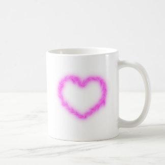 Heart Lightning Coffee Mug