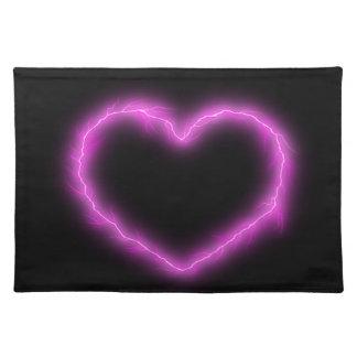 Heart Lightning Placemat
