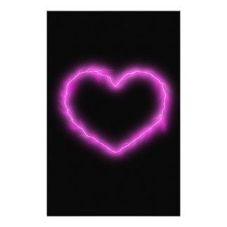 Heart Lightning Stationery