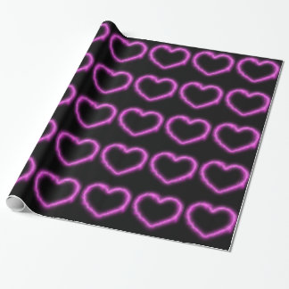 Heart Lightning Wrapping Paper