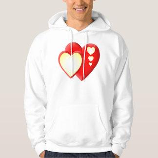 Heart lights hoodie