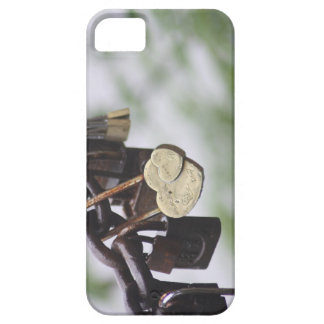 Heart Lock Love to Last a Lifetime Barely There iPhone 5 Case