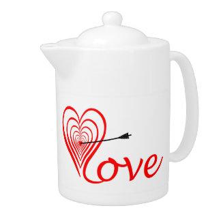 Heart love Dartscheibe with arrow