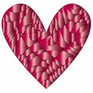 Heart - Love Design Standing Photo Sculpture