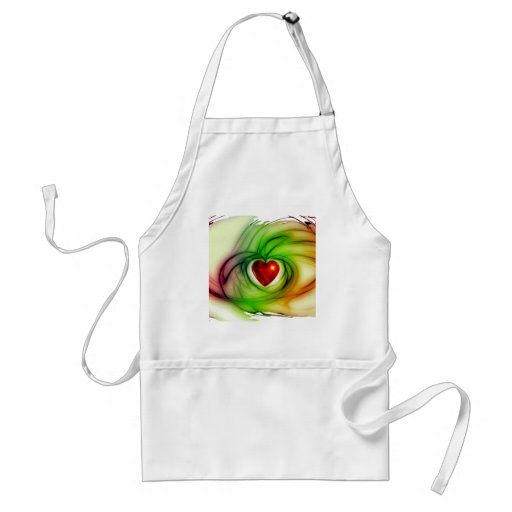 heart love freedom aprons