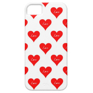 Heart Love Pattern iPhone 5 Cover