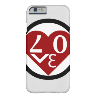 Heart Love Phone Case Barely There iPhone 6 Case