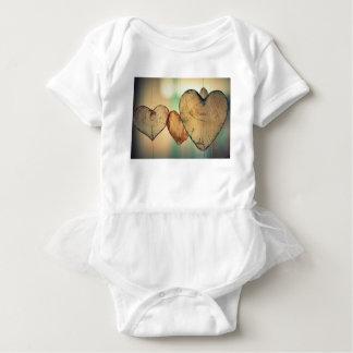 Heart Love Romance Valentine Romantic Harmony Baby Bodysuit