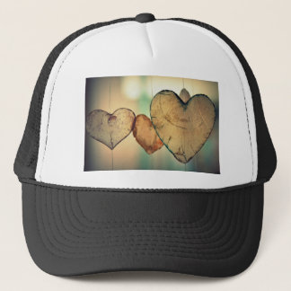 Heart Love Romance Valentine Romantic Harmony Trucker Hat