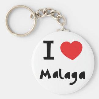 Heart Malaga Key Ring