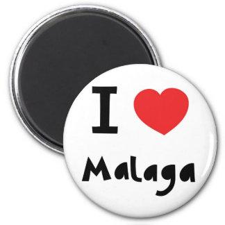 Heart Malaga Magnet