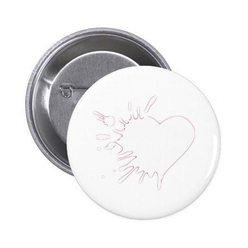 Heart malting buttons