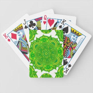 Heart Mandala Poker Deck