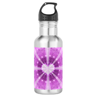 Heart Meditation Mandala 532 Ml Water Bottle