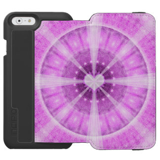 Heart Meditation Mandala Incipio Watson™ iPhone 6 Wallet Case