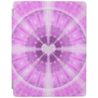 Heart Meditation Mandala iPad Cover