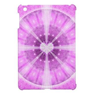Heart Meditation Mandala iPad Mini Covers