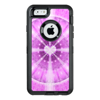 Heart Meditation Mandala OtterBox Defender iPhone Case