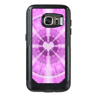 Heart Meditation Mandala OtterBox Samsung Galaxy S7 Case