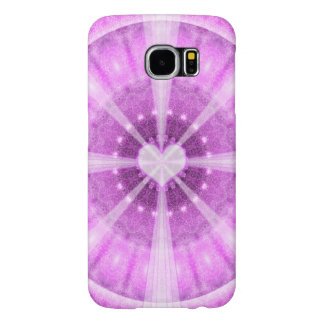Heart Meditation Mandala Samsung Galaxy S6 Cases