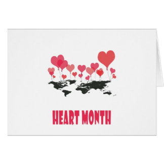 Heart Month - Appreciation Day Card