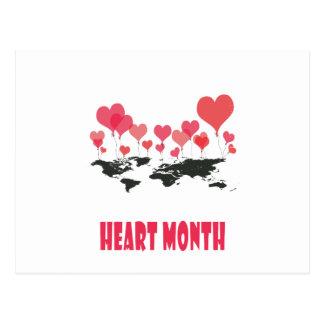 Heart Month - Appreciation Day Postcard
