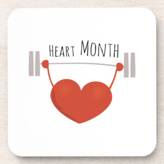 Heart Month Drink Coasters