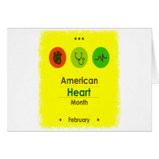 Heart Month February - Appreciation Day Card