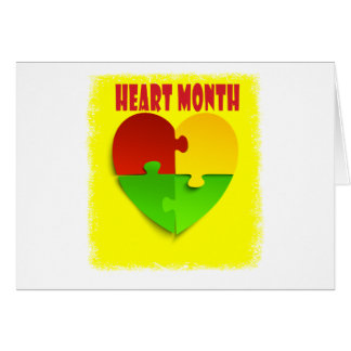 Heart Month - February - Appreciation Day Card