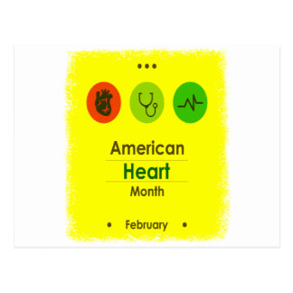 Heart Month February - Appreciation Day Postcard