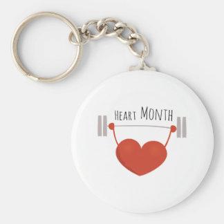 Heart Month Keychain