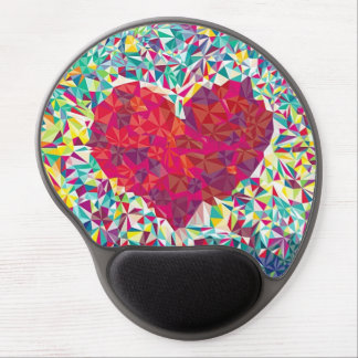 Heart Mouse Pad Gel Mouse Pad