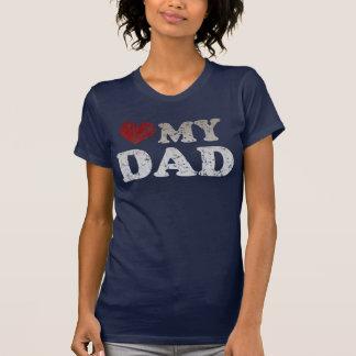 Heart my Dad Tee Shirt