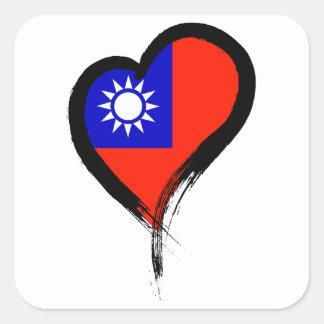 Heart Nation 06 Square Sticker