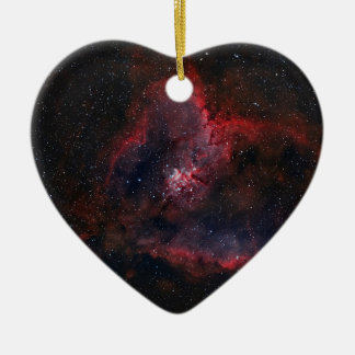 Heart Nebula Ceramic Heart Decoration
