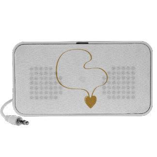 Heart Necklace Speaker