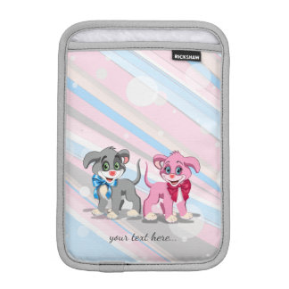 Heart Nose Puppies Cartoon iPad Mini Sleeve