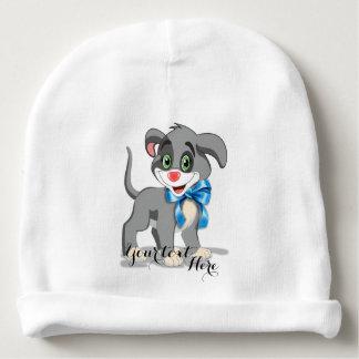 Heart Nose Puppy Cartoon Baby Beanie