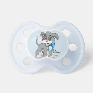 Heart Nose Puppy Cartoon Baby Pacifier