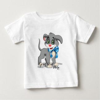 Heart Nose Puppy Cartoon Baby T-Shirt