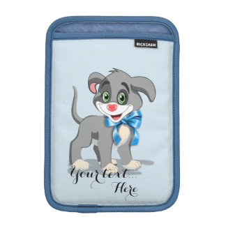 Heart Nose Puppy Cartoon iPad Mini Sleeve