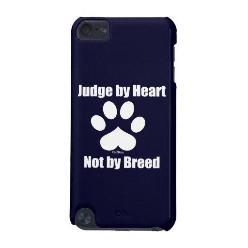 Heart Not Breed - Navy iPod Touch 5G Case