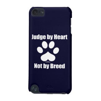 Heart Not Breed - Navy iPod Touch (5th Generation) Cover